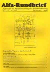 Alfa-Rundbrief Nr. 27 (1994)