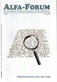 ALFA-FORUM Nr. 62 (2006)