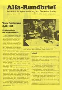 Alfa-Rundbrief Nr. 5 (1986)