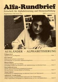 Alfa-Rundbrief Nr. 17/18 (1991)