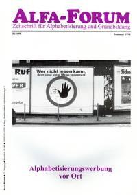 ALFA-FORUM Nr. 38 (1998)