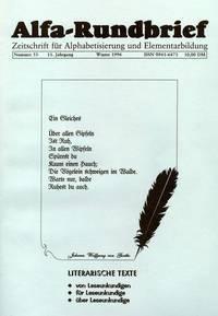 Alfa-Rundbrief Nr. 33 (1996)