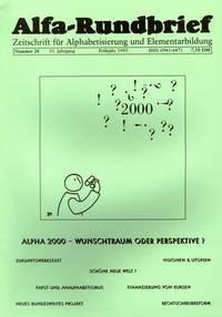 Alfa-Rundbrief Nr. 28 (1995)