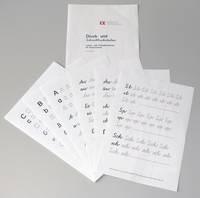 Druck- und Schreibbuchstaben
