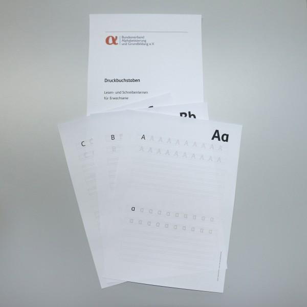Druckbuchstaben SemikolonPlus