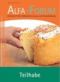ALFA-FORUM Nr. 84 (2013)