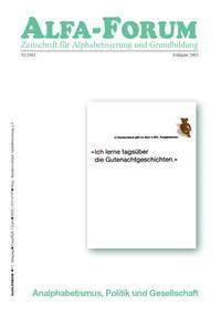 ALFA-FORUM Nr. 52 (2003)