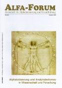 ALFA-FORUM Nr. 59 (2005)