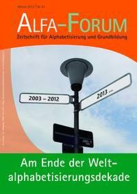 ALFA-FORUM Nr. 81 (2012)