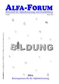 ALFA-FORUM Nr. 51 (2002) (Kopien)