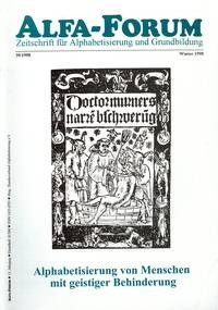 ALFA-FORUM Nr. 39 (1998)