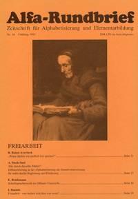 Alfa-Rundbrief Nr. 16 (1991) Kopien