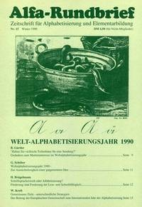Alfa-Rundbrief Nr. 15 (1990)